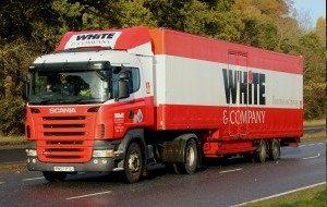 dumbarton removals whiteandcompany.co.uk truck image