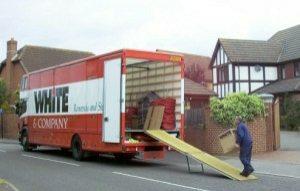 clitheroe removals whiteandcompany.co.uk domestic removals loading truck image