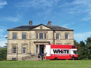 rownhams removals whiteandcompany.co.uk truck mansion house image