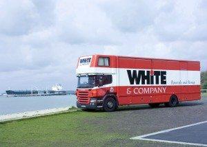 House Removals St Leonards on Sea whiteandcompany.co.uk truck image