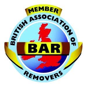 Doncaster Removalist british association of mremovers bar logo image