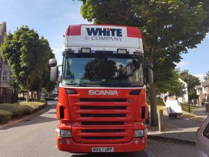 Good Moves Maldon Removals truck Image
