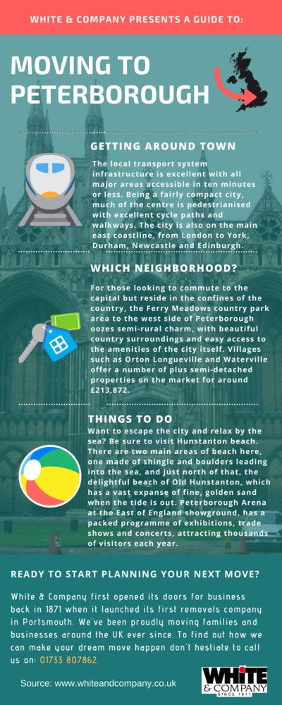 Removals Peterborough Infographic