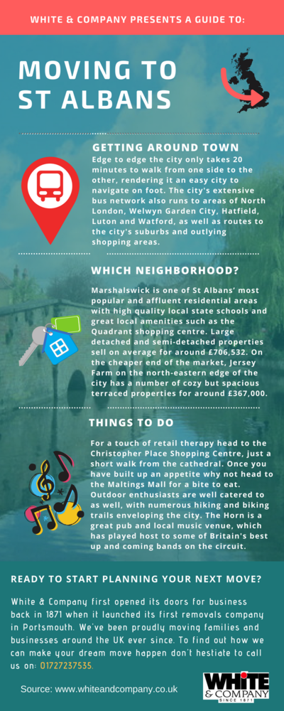 Removals St Albans Infographic