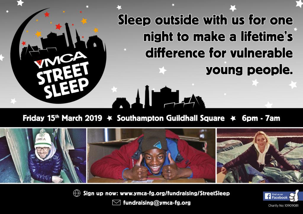 Street Sleep Event Poster
