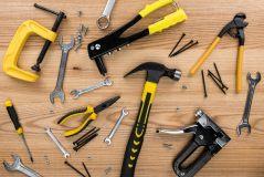 Assortment of Work Tools