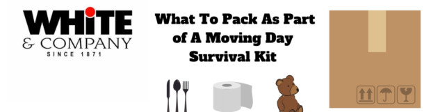 What To Pack As Part of A Moving Day Survival Kit