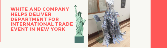 Dressing Up A Department for International Trade Showcase in America