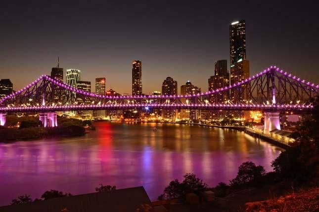 Brisbane Australia Story Bridge