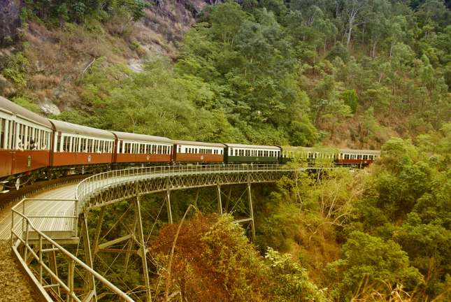 Cairnes Australia Kuranda railway