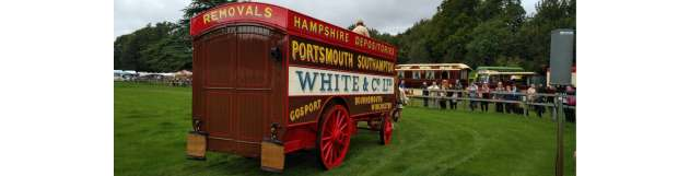 White & Company Features in the Saddles & Steam Exhibition