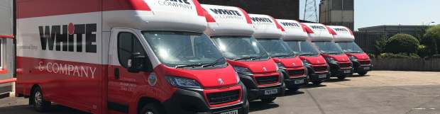 White & Company Expands LCV Fleet With Acquisition Of Low Floor Luton Vans