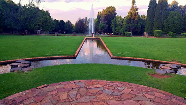 Johannesburg Botanical Garden Fountain