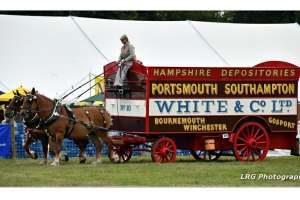 Horse Drawn Removals Van