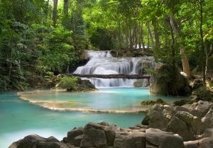 Erawan Falls, Kanchanaburi Thailand