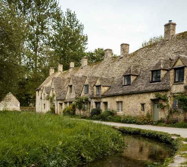 Row of Terraced Houses Bibery UK