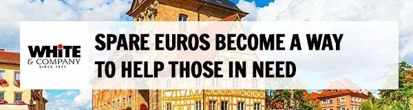 Spare Euros Become a Way to Help Those in Need