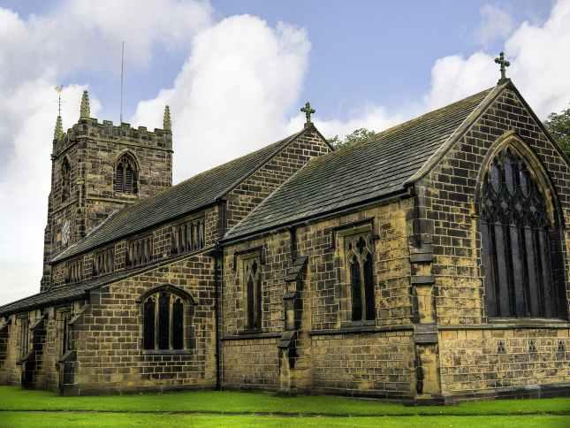 All Saint Church in Ilkley
