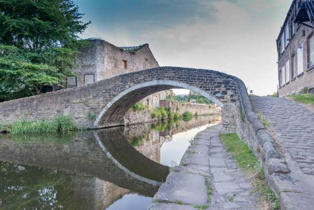 Bridge over Canal in Yorkshire