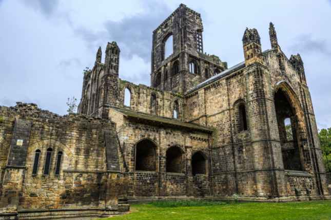 Historic Kirkstall Ruins Leeds