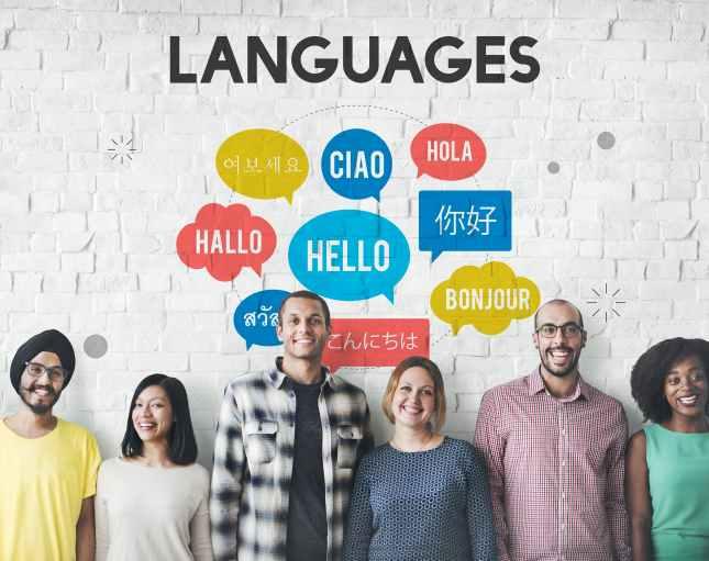 Multilingual Greetings Languages