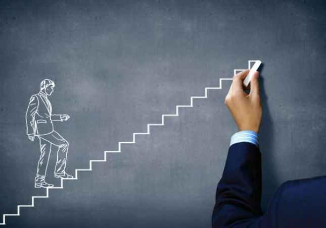 Ladder to success
