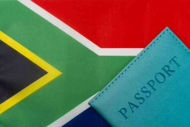 South Africa Passport