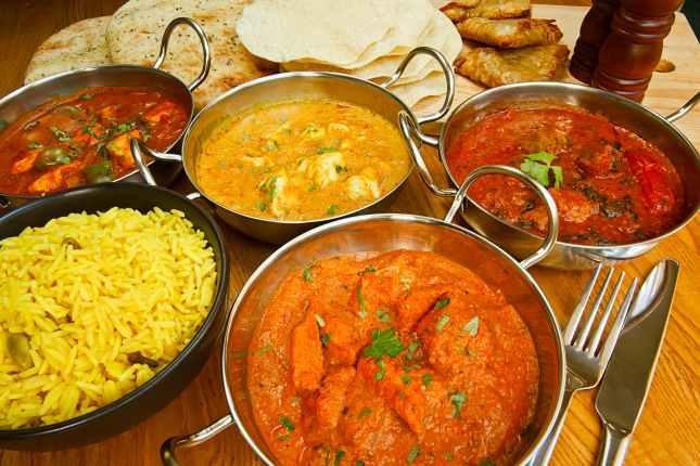 indian cuisine buffet