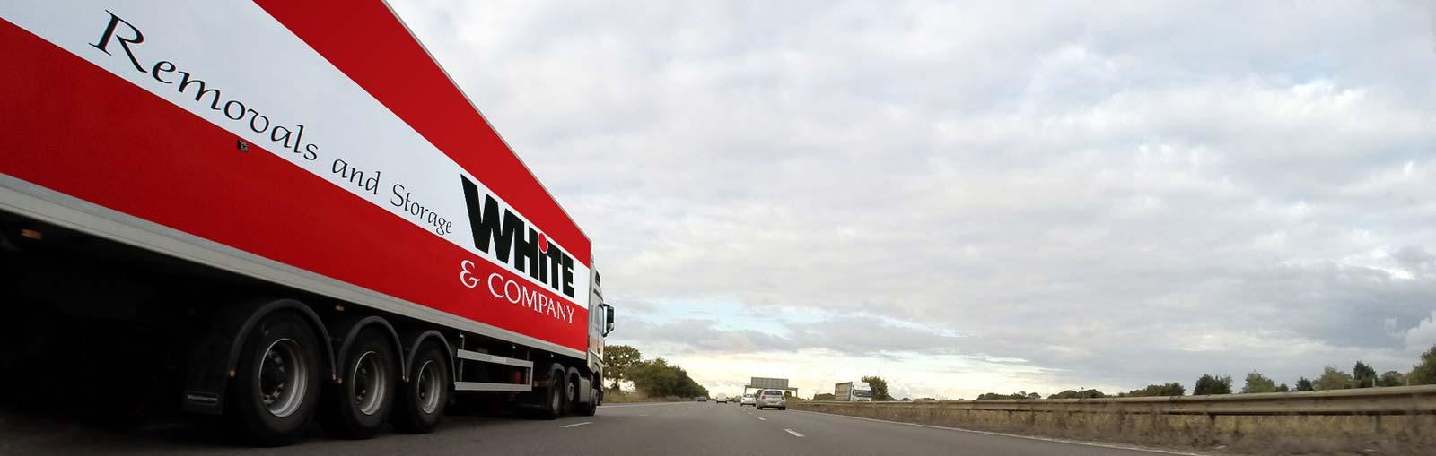 White & Co Truck En Route