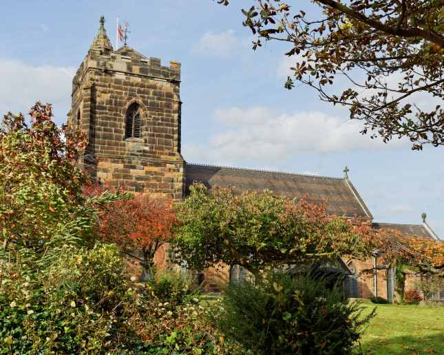 Holy Trinity Parish Church in Sutton Coldfield