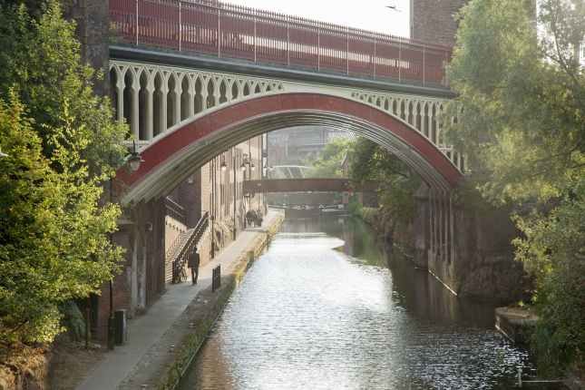 Rochdale Canal, Deansgate, Manchester