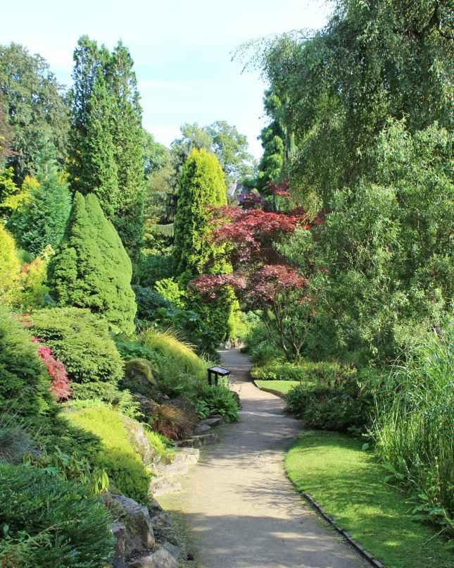 Fletcher Moss Gardens in Didsbury in Manchester
