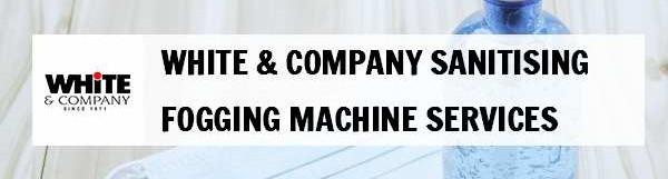 White & Company Sanitising Fogging Machine Services