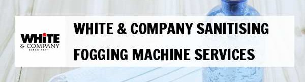 White & Company Sanitising Fogging Machine Services