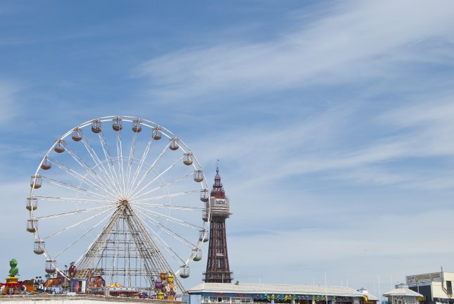 Blackpool Beach Pier