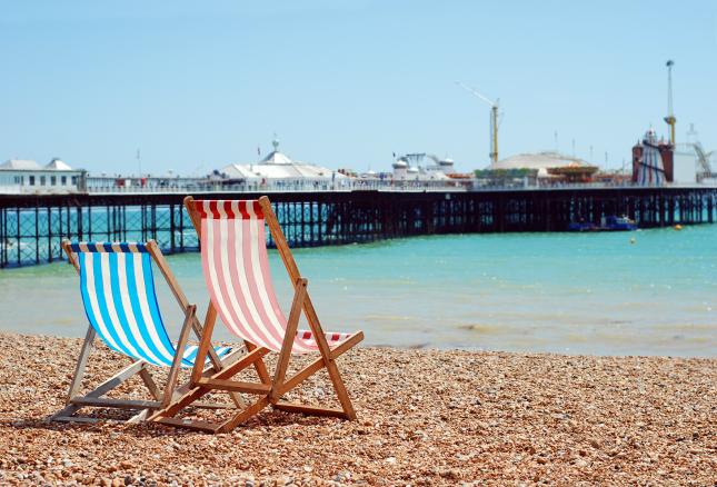 Deck Chairs Brighton Beach