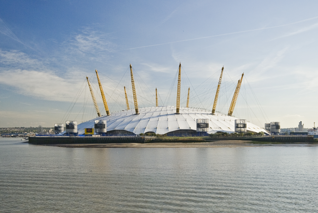 The O2 in North Greenwich