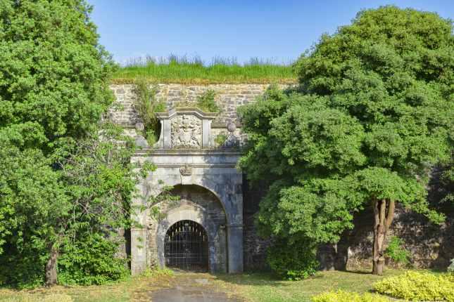 Sally Port Plymouth Royal Citadel Devon UK