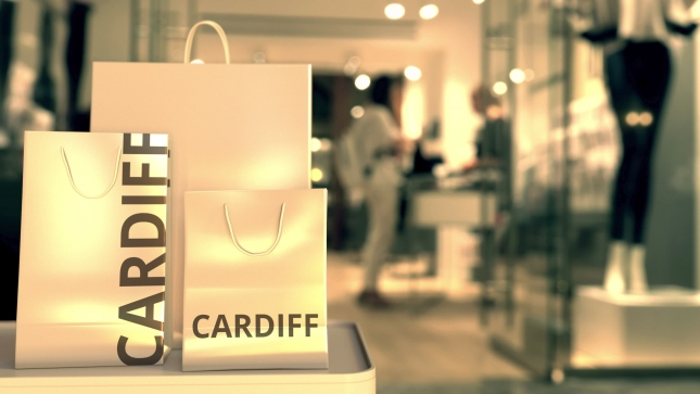 Shopping Bags, Cardiff