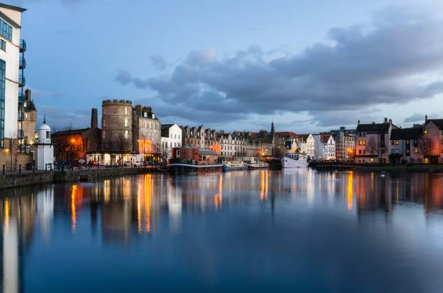 Leith Harbour, Scotland