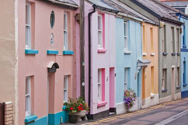 Appledore Colourful Houses