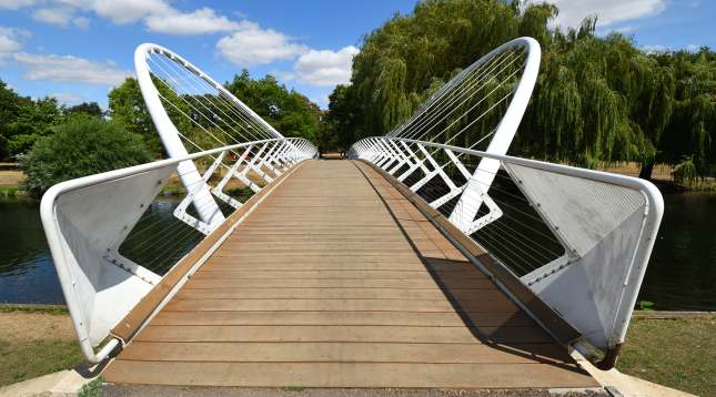 Bedford Butterfly Bridge