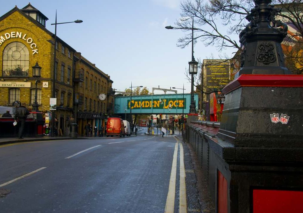 Removals Camden, picture of Camden Lock